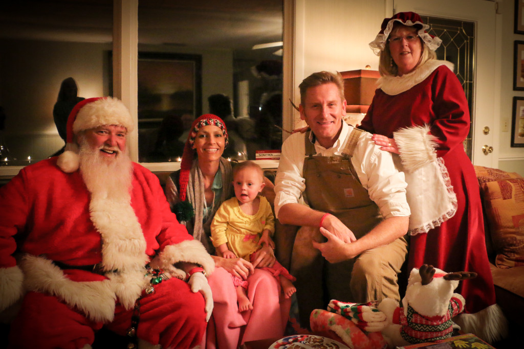 Santa Visits Joey + Rory \'A Week Early, But Right on Time\' | Sounds ...