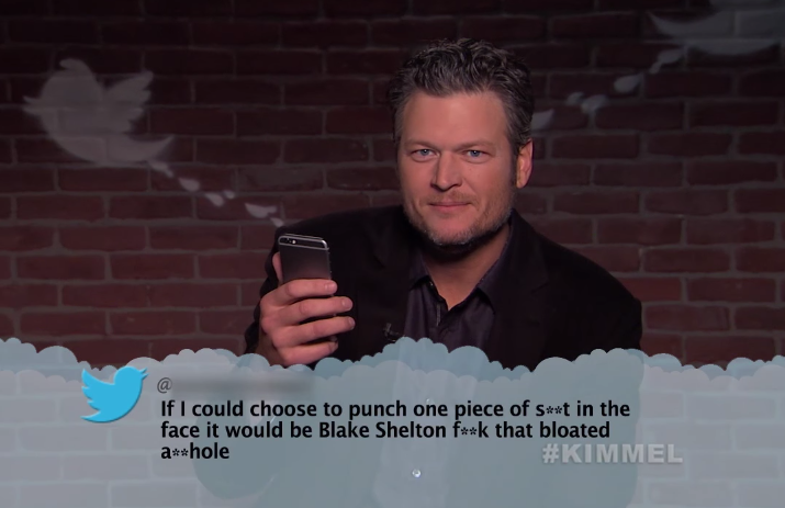 Little Big Town, Blake Shelton Featured in 'Jimmy Kimmel Live!' Mean Tweets