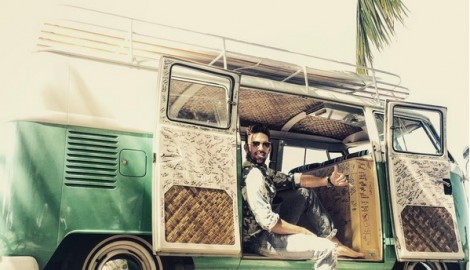 Jake Owen Road Trips in 'American Country Love Song' Music Video