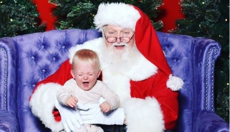 Charles Kelley Shares Hilarious Photo of Son Meeting Santa