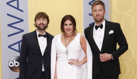 Lady Antebellum 'Tickled' To Be Back in Recording Studio