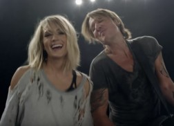 Keith Urban and Carrie Underwood Debut Fun and Flirty Music Video for 'The Fighter'