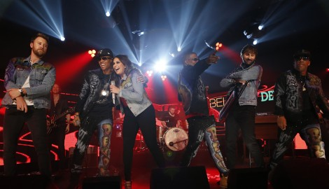 Lady Antebellum Trade Country for Hip-Hop on 'Jimmy Kimmel Live!'