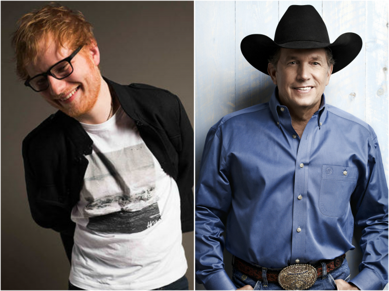 Ed Sheeran Hopes to Achieve 'George Strait's Level' of Touring Someday