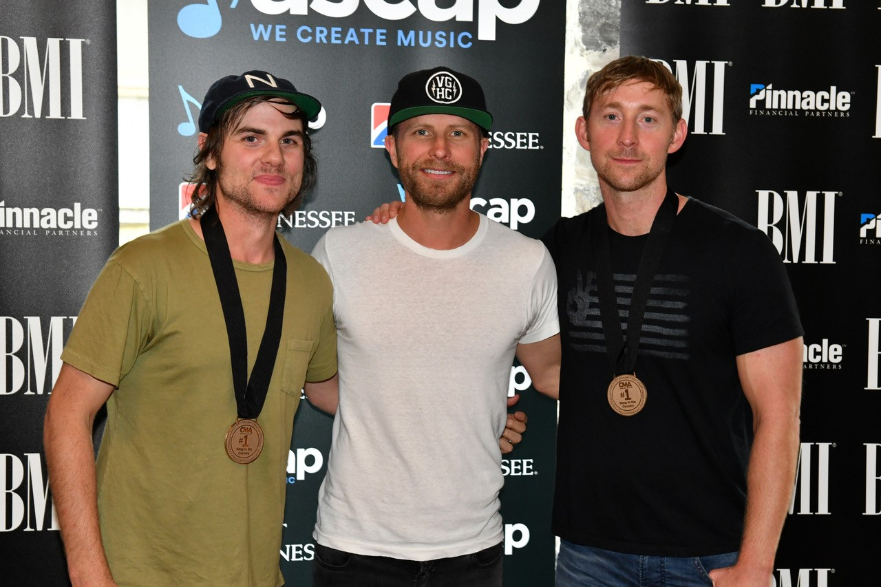 Dierks Bentley Celebrates His Sweet 16th at No. 1 Party for 'Black'