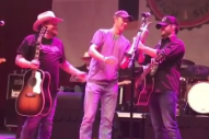 Golfer Jordan Spieth Joins Randy Rogers, Wade Bowen On Stage in Texas