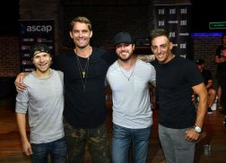 Brett Young Celebrates No.1 'In Case You Didn't Know' in Nashville