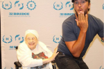 Luke Bryan Breaks His No Butt Grabbing Rule for 88-Year Old Fan