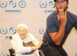 Luke Bryan Breaks His No Butt Grabbing Rule for 88-Year Old Fan