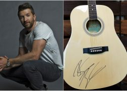WIN a Guitar Autographed By Brett Eldredge