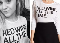 Get The Look: Kelsea Ballerini's 'Red Wine. All The Time.' Shirt