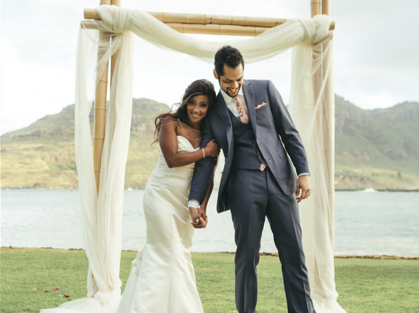 Mickey Guyton Says 'I Do' in Intimate Hawaiian Wedding