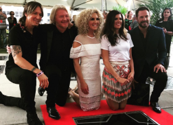Little Big Town Presented with Star on Music City Walk of Fame