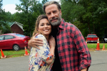 Shania Twain Shares Pictures with John Travolta From Set of 'Trading Paint'