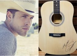 WIN a Guitar Autographed by Dustin Lynch