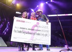 Jason Aldean Surpasses $3.6 Million Donated to Breast Cancer Research