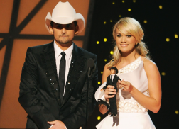 Brad Paisley and Carrie Underwood Reminisce on Their Favorite CMA Awards Memories