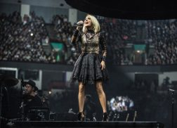 Watch Carrie Underwood Make Her Way to the Stage in Behind-The-Scenes Clip