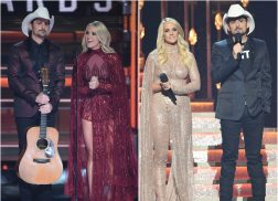 Carrie Underwood's Six Best Looks From the 2017 CMA Awards