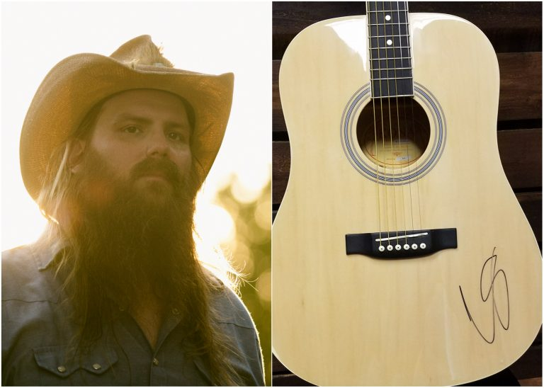 WIN a Guitar Autographed by Chris Stapleton