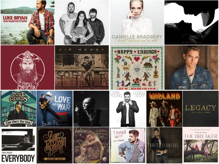 WIN a Collection of Sounds Like Nashville's 20 Best Country Albums of 2017