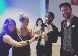 Lady Antebellum's Charles Kelley and Dave Haywood Toast Hillary Scott Ahead of GRAMMYs