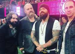 Zac Brown Band Opens National Championship with Stunning National Anthem Performance