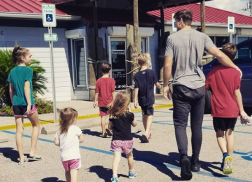 Walker Hayes Loves Having His Kids Out On The Road With Him