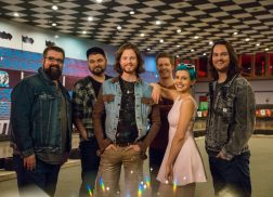 Home Free Grabs the Controls in Vintage Video Game for 'Meant to Be' Video