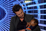 Luke Bryan Snuggles Adorable Baby During 'American Idol' Audition
