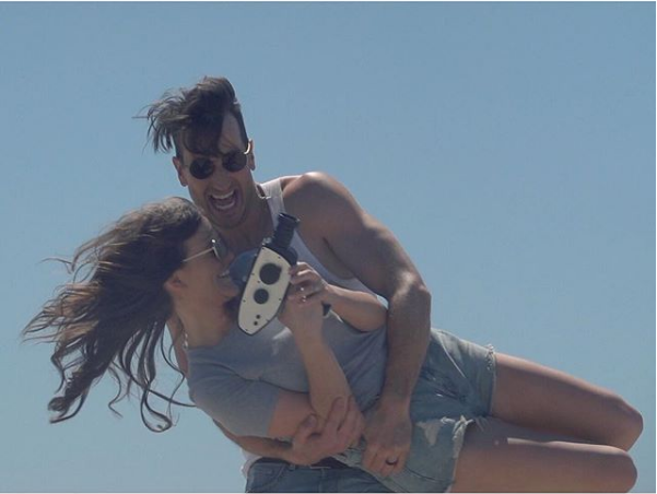 Russell Dickerson Goes On a Romantic Roadtrip in 'Blue Tacoma'