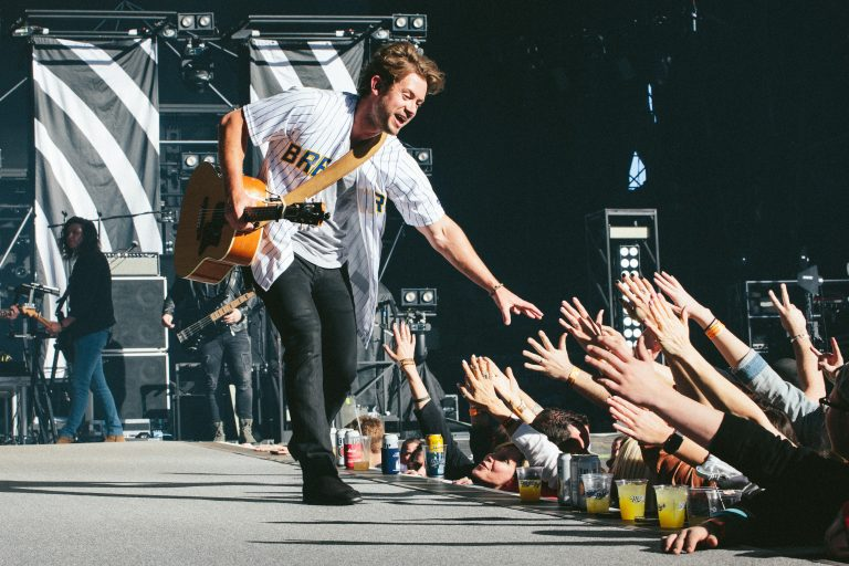 Brandon Lay Is 'Livin' The Dream' on Kenny Chesney Tour