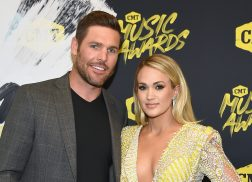 Carrie Underwood Catches Mike Fisher Belting Her Song, 'Cry Pretty'