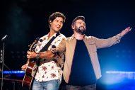 Dan + Shay, Kane Brown Impress During First-Ever Nissan Stadium Set at 2018 CMA Fest Night 1