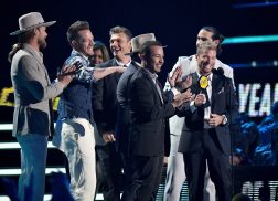 Florida Georgia Line and Backstreet Boys Take Home Trophy for CMT Performance of the Year
