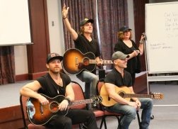 Kip Moore, Ross Copperman and Jon Nite Host ACM Lifting Lives Music Camp Songwriting Workshop