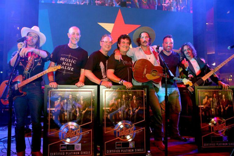Midland Celebrates Platinum Status at CMA Fest