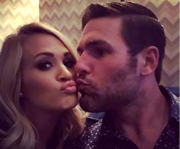 Carrie Underwood and Mike Fisher Selfie It Up For Wedding Anniversary