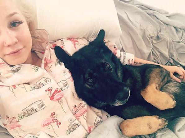 RaeLynn's Service Dog, Jazz, Has Cancer