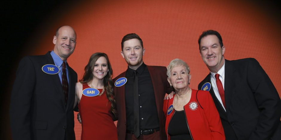 Scotty McCreery Wins $25,000 For St. Jude Children&#8217;s Research Hospital on <em>Celebrity Family Feud</em>