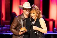 Dustin Lynch Inducted into Grand Ole Opry by Reba McEntire