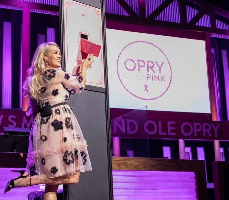 Carrie Underwood + More Stand in Solidarity With Cancer Survivors at 10th Annual Opry Goes Pink