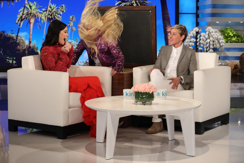 Kacey Musgraves Gets Scared on <em>The Ellen Show</em>