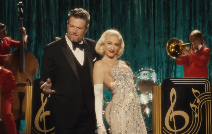 Blake Shelton and Gwen Stefani Get Festive for 'You Make It Feel Like Christmas' Video