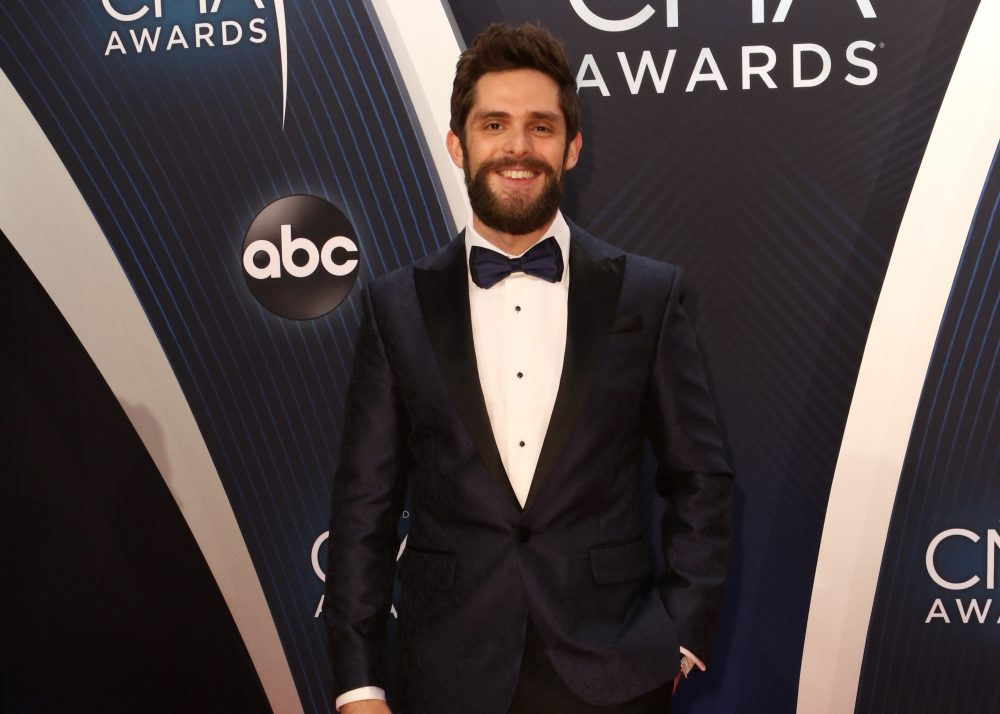 Thomas Rhett is a Quirky Turkey at Holiday Dinners