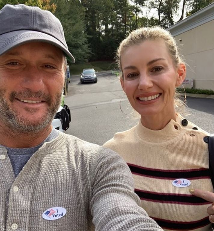 Country Stars Head to the Polls for the Midterm Elections