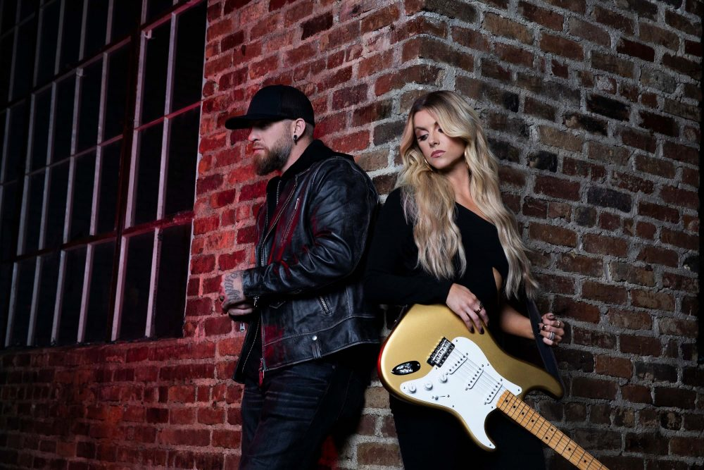 Brantley Gilbert and Lindsay Ell Combine Forces For 'What Happens in a Small Town'