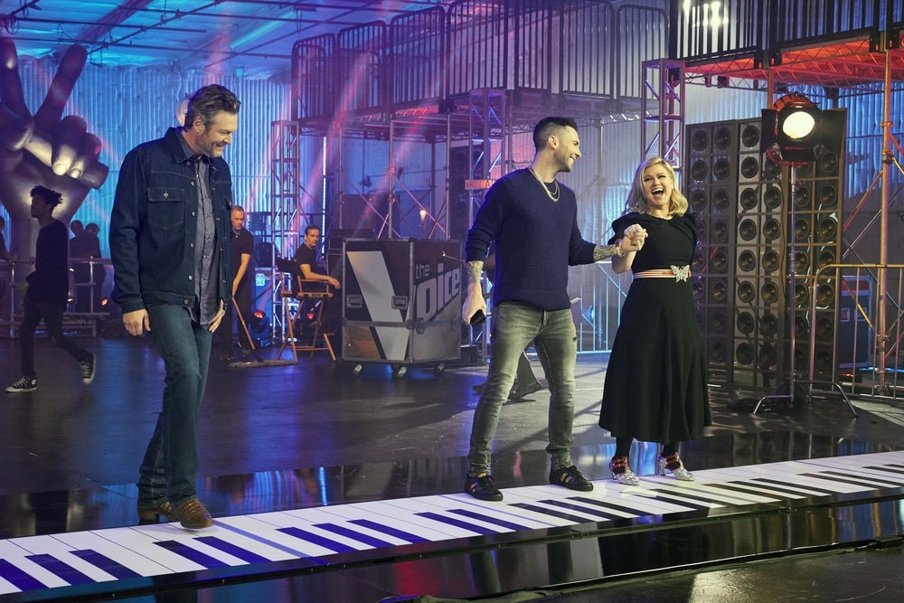 Go Behind-The-Scenes of 'The Voice' Big Piano Commercial