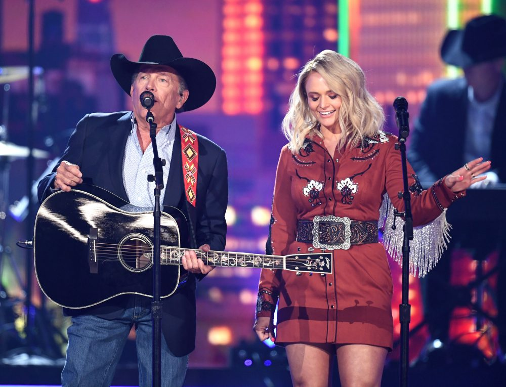 George Strait and Miranda Lambert Flashback to 'Run' at ACM Awards