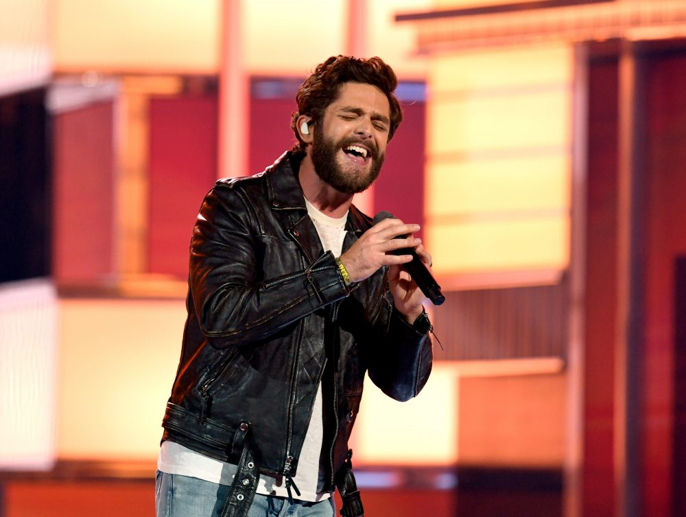 Thomas Rhett Brings Sweet 'Look What God Gave Her' to 2019 ACM Awards